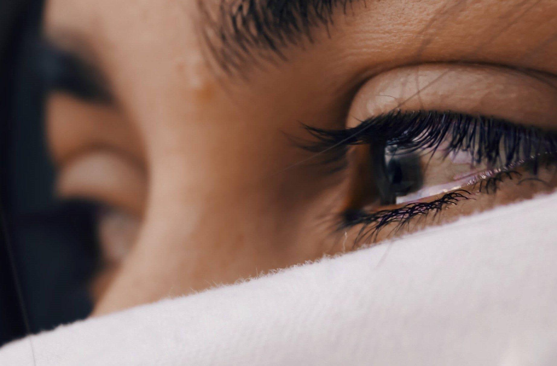 oči podráždenie