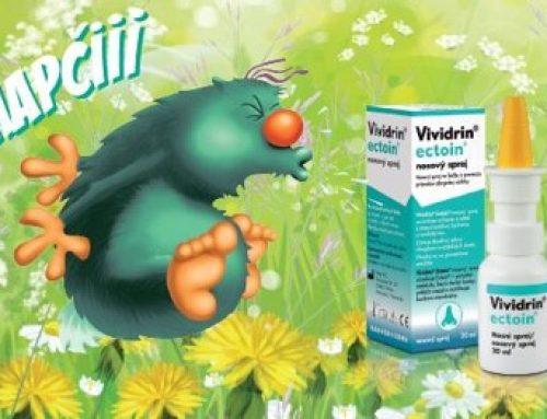 Vividrin® Ectoin® nosový sprej alergény porazí a voľný nos zvíťazí (ROZHOVOR)